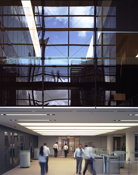 Atrium glazing by Josef Gartner 3/12
