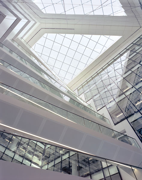 Looking up into the atrium.6/18
