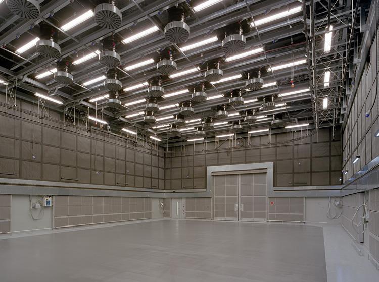 TV studios in the basement. 23/28