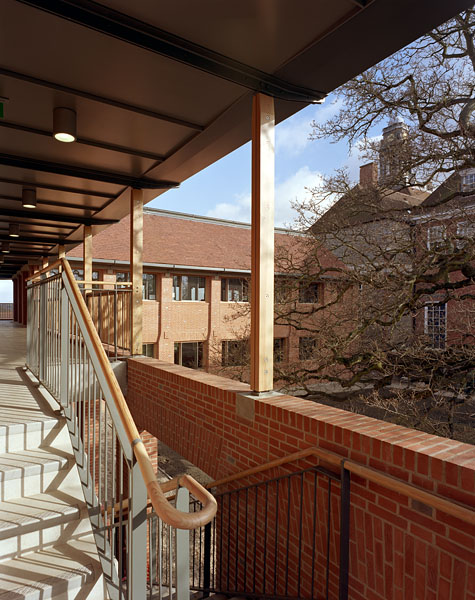 View from the first floor access walkways.3/20