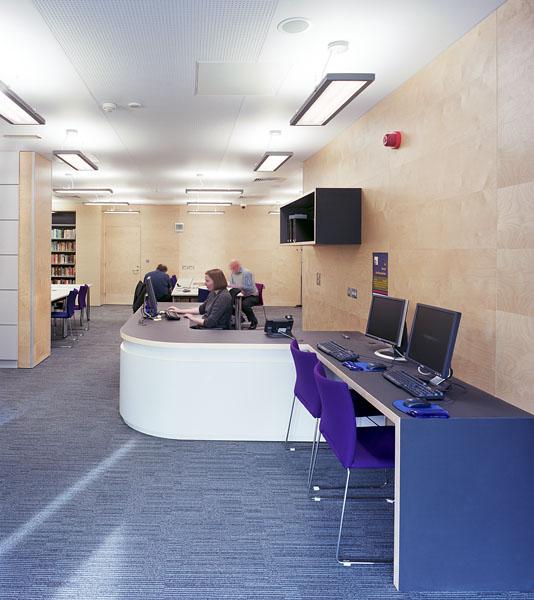 Warwick University Modern Records Centre, lobby space.14/17
