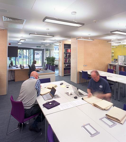 Warwick University Modern Records Centre, study room.15/17