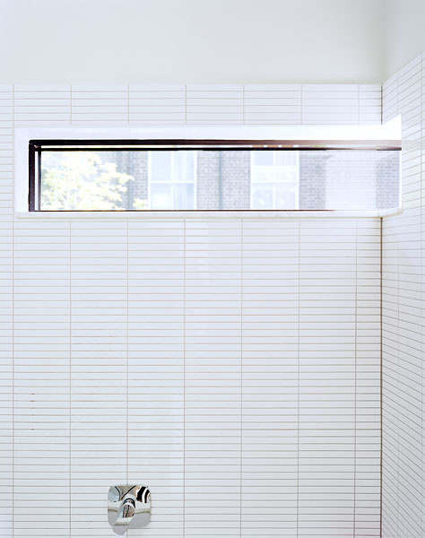 Bathroom with horizontal window.18/18