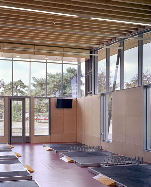 Strength training area. 34/41