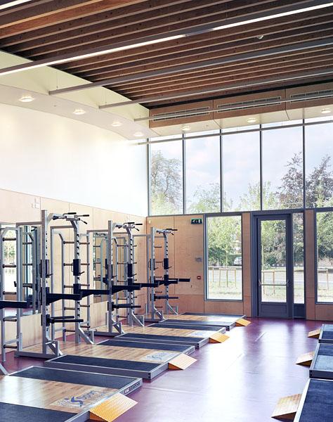 Strength training area. 35/41