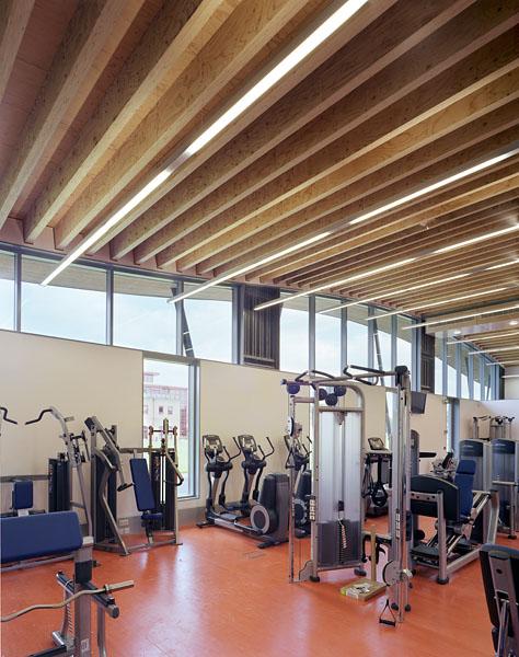 Cardiovascular training area. 37/41