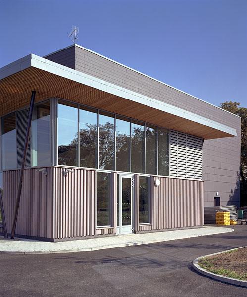 East-facing facade. 38/41