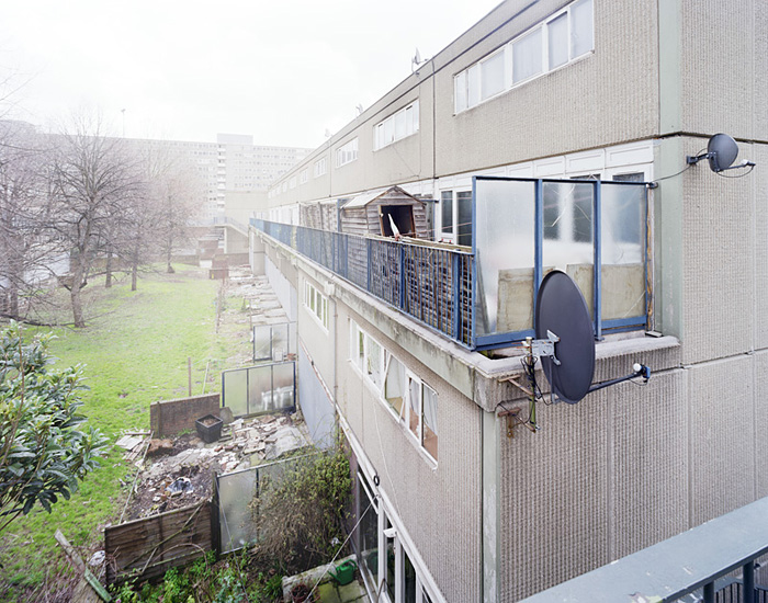 The heygate estate, elephant and castle, south london.