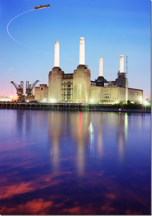 Battersea Power Station Christmas Card