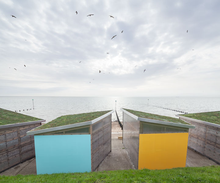 Beach Huts in Shoeburyness by Pedder Scampton Architects. 15 of 20
