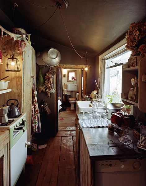 The kitchen in James Plumb's house, South London.3/36