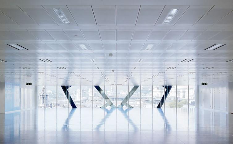 Cannon Place, Cannon Street, London, by Foggo Associates: office floor.13/48