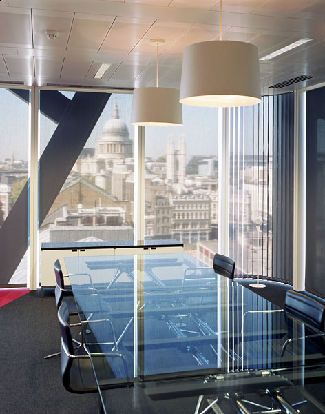 Cannon Place, Cannon Street, London, by Foggo Associates: internal meeting rooms.15/48