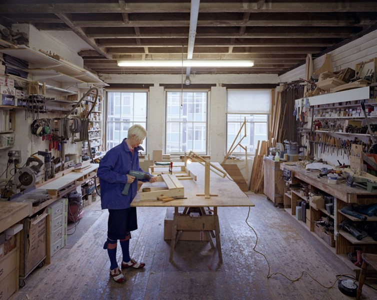 Nina Tolstrup in her studio.15/36