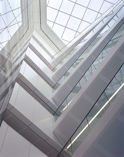 Regents Palace Hotel, Regents Street, London, by Dixon Jones Architects: looking up into the atrium.24/48