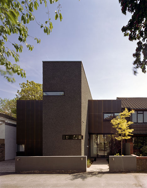 Private residence in Blackheath, London, by Alan Camp Architects: the front elevation from the street.26/65