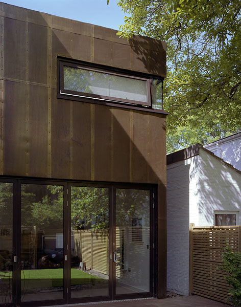 Private residence in Blackheath, London, by Alan Camp Architects: garden facade.28/65