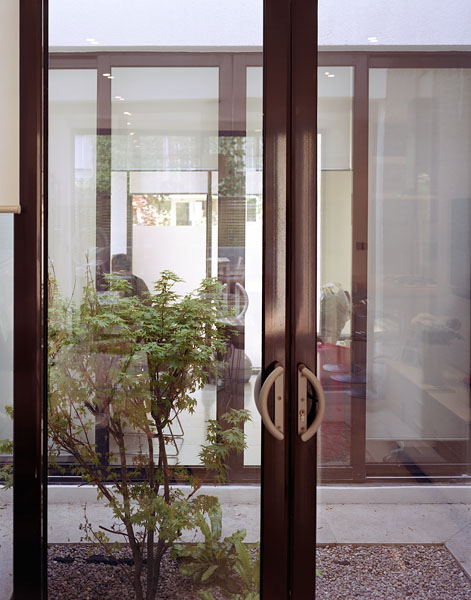 Private residence in Blackheath, London, by Alan Camp Architects: courtyard garden with planting.32/65