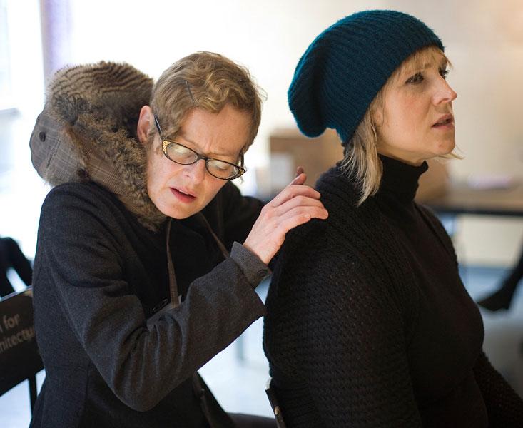Working with artist Joanna Bristol.34/36