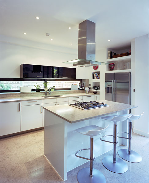 Private residence in Blackheath, London, by Alan Camp Architects: bespoke kitchen.35/65
