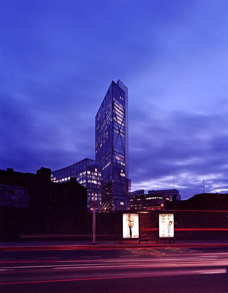 Broadgate Tower, London, Skidmore Owings Merrill: dusk view.46/48