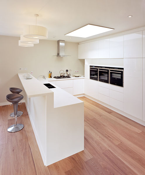 Private residence in London by Coup De Ville Architects: bespoke kitchen.56/65