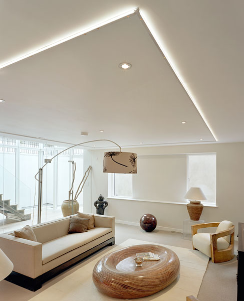 Private residence in London by Coup De Ville Architects: living room.59/65