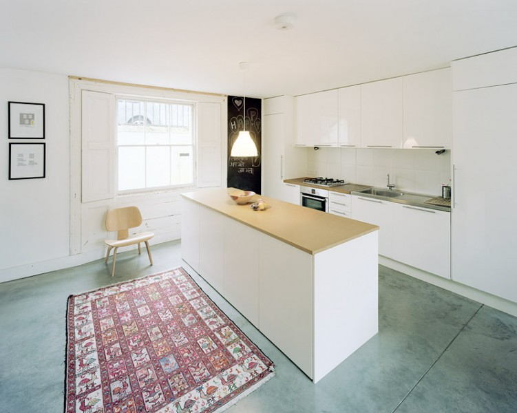 Private residence in London by Haptic Architects: ground floor kitchen/dining room.65/65