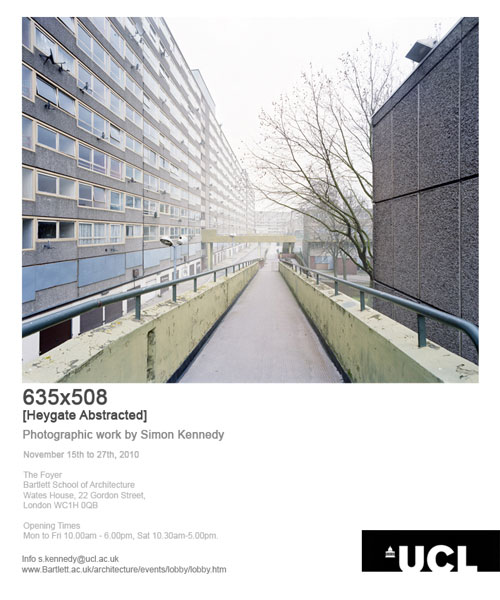 The Heygate Estate, Abstracted Exhibition Flier.1/41