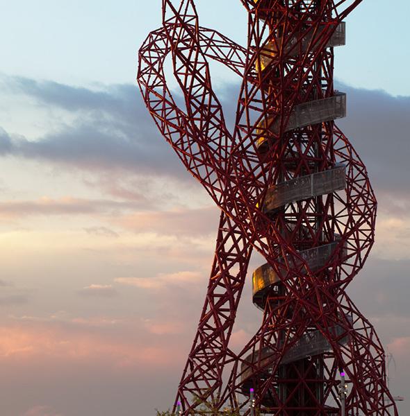The Orbit, London, photographed for Ushida Findlay. 13 of 20