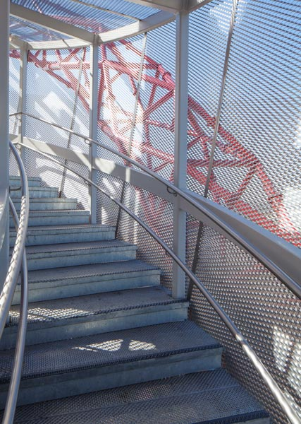 Photography of steel staircase. 13 of 23
