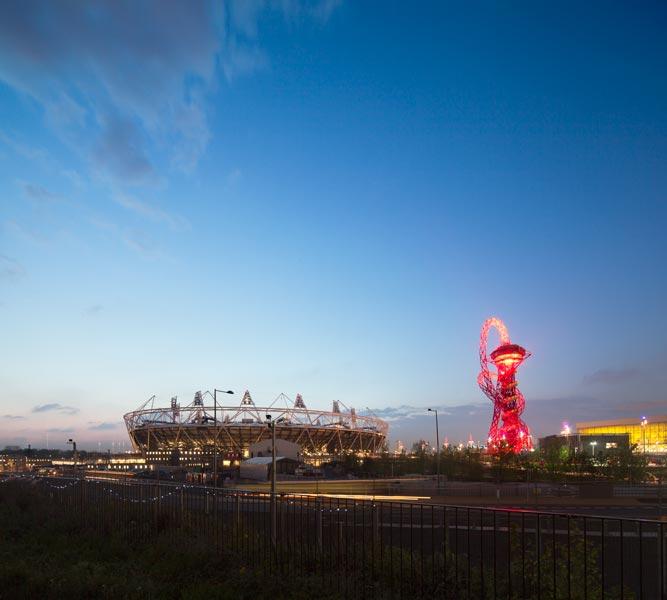 London Olympic Stadium at dusk. 23 of 23