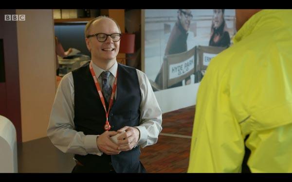 Jason Watkins as Simon Harwood - screen grab copyright BBC