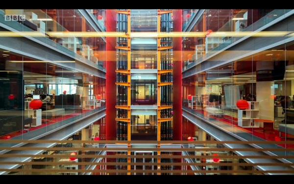 Atrium architectural photography