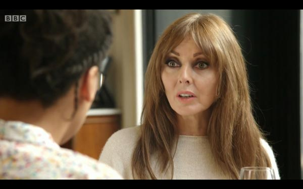 Carol Vorderman - screen grab copyright BBC