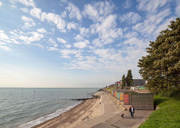 Photograph of the landscape of East Beach, Shoeburyness, Southend-on-Sea. 1 of 12