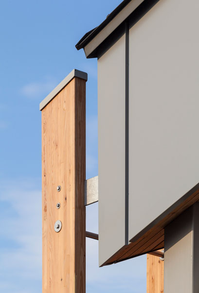 Exterior facade cladding detail photography. 2 of 20