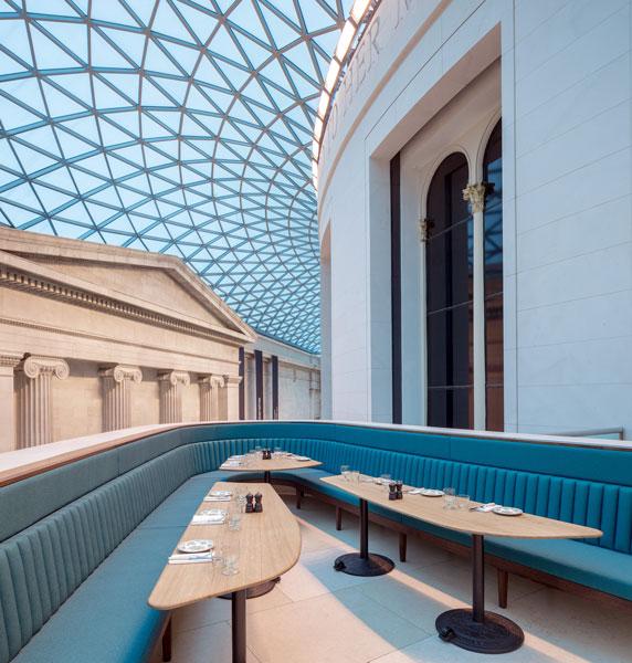 British Museum Great Court Restaurant. 2 of 10.