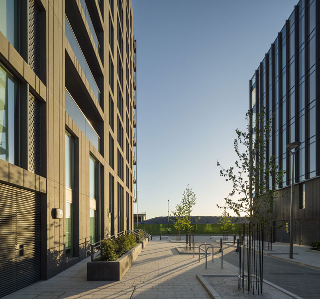 Simpson Haugh, Chambers Wharf development, London. 3 of 15.