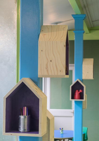 "Interior ""bird houses"" photography. 4 of 14."