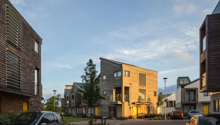 External timber cladding and solar shading architectural photography. 7 of 12.