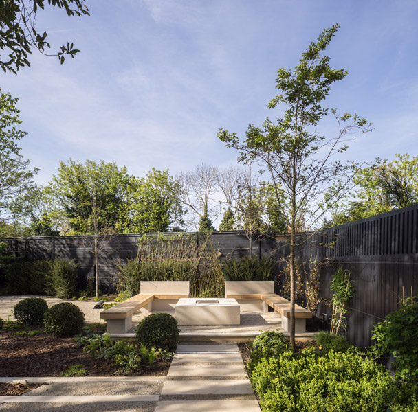 Architectural landscaping photograph, 02 of 14