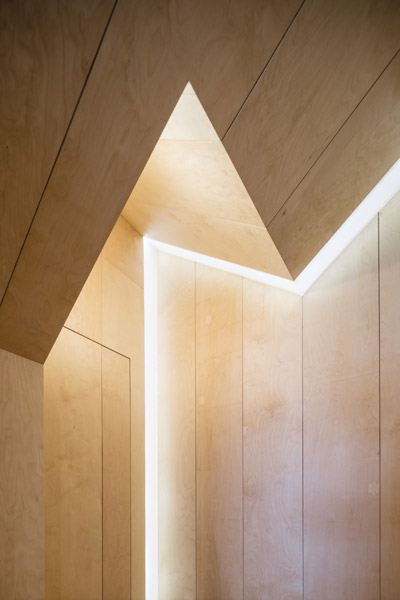 Timber clad interior detail. 03 of 08
