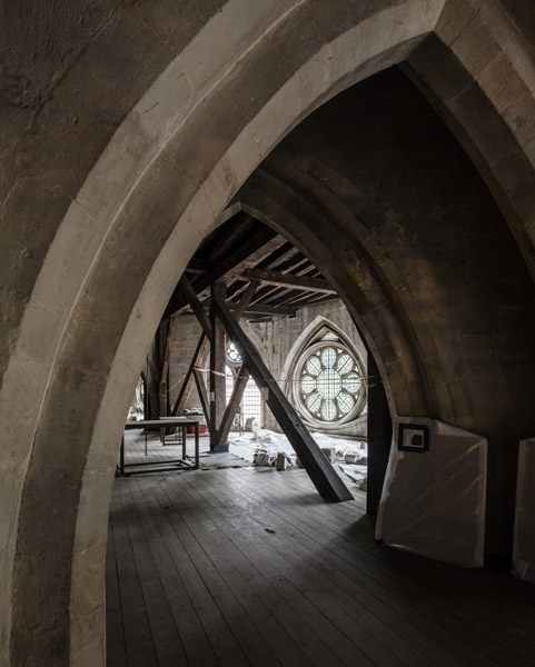Triforium before fit-out, 04 of 27