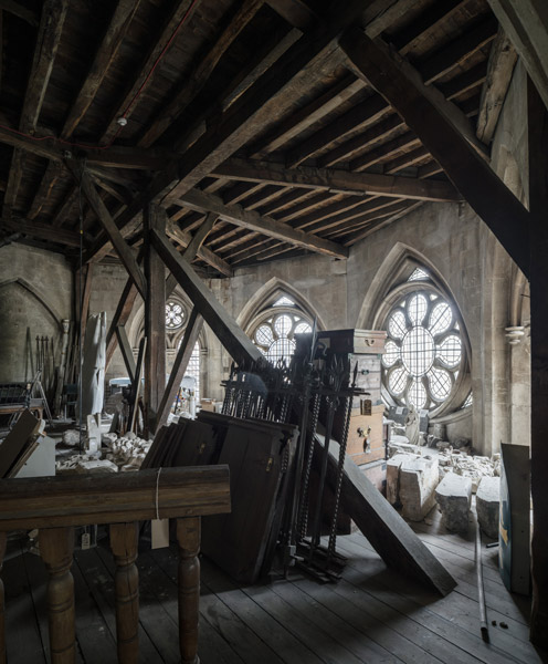 Storage of Westminster Abbey artifacts and ongoing repair projects, 05 of 27