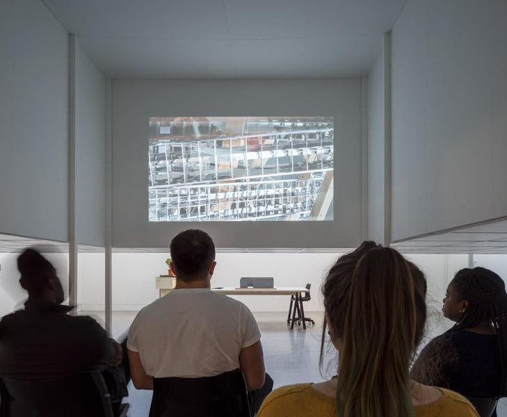Spectators of the video art, 06 of 10