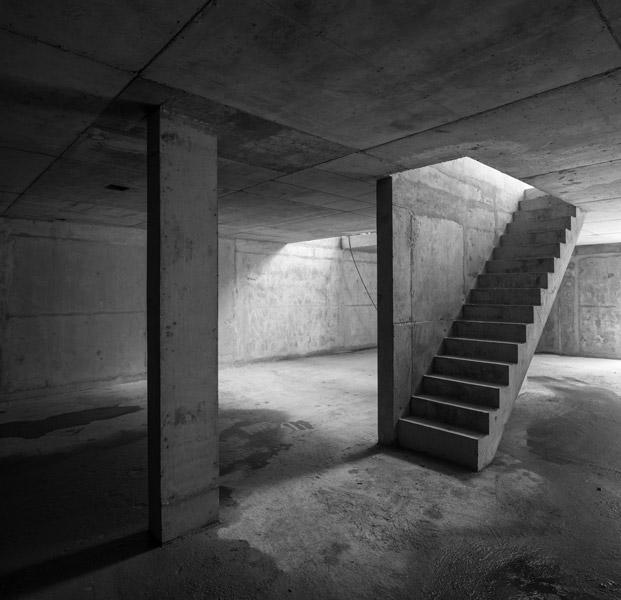Concrete structure in monochrome, 07 of 24