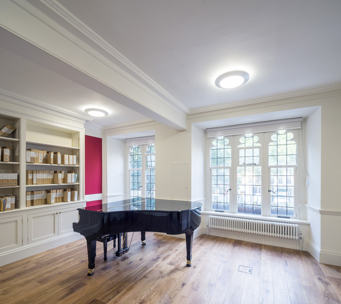 Interior piano recital room, 07 of 12