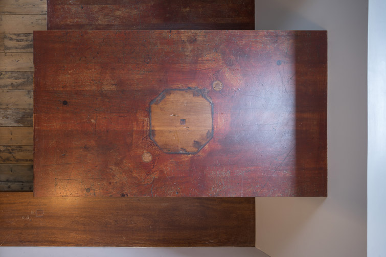 Reclaimed architectural dining table photo, 08 of 18