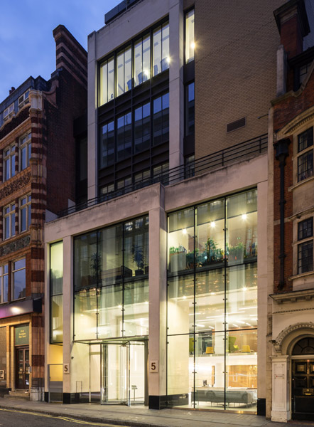 Dusk glazed facade photography, 09 of 17